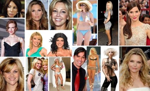 celebrities, entertainment, beauty, cosmetic surgery, highsocietyplasticsurgery.com