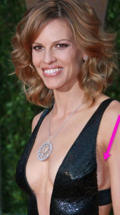 Hillary Swank, breast implants, breast augmentation, celebrities, entertainment, beauty, cosmetic surgery