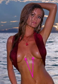 Holly Weber, breast implants, breast augmentation, celebrities, entertainment, beauty, cosmetic surgery